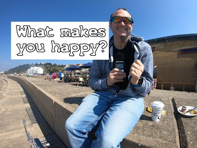 Interviewing people: what makes you happy?