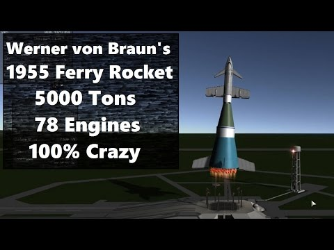 Building von Braun's Ferry Rocket at Realistic Scale