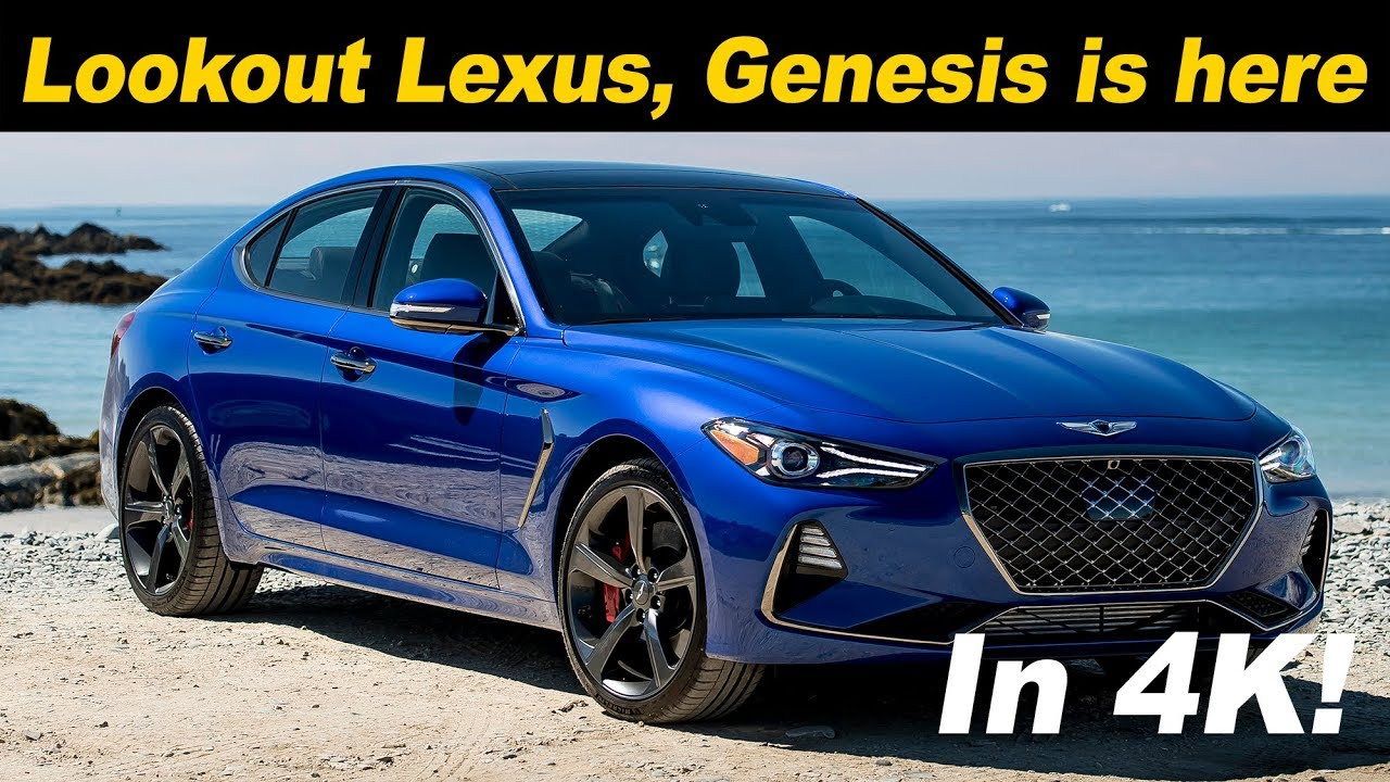 2019 Genesis G70 The Car Lexus Should Have Built Youtube