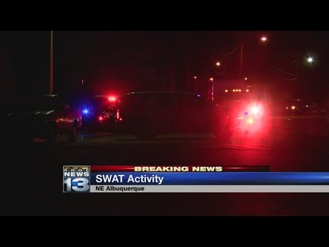 SWAT responds to barricaded man inside northeast Albuquerque home
