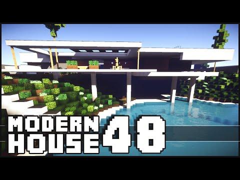Minecraft amazing modern house 49 villa kogelhof doovi for Amazing modern houses minecraft