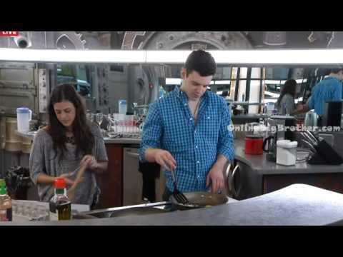 Big Brother Canada 3 Kevin & Pilar Flirting