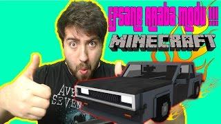 Minecraft'ta Araba Satın Aldım !!! Minecraft Personal Cars Mod !!! 1.10.2