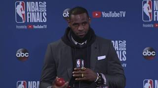 LeBron James |  NBA Finals Game 2 Postgame Interview