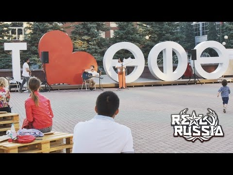 "Square of Two Fountains in Ufa.  ""Real Russia"" ep.109 (4K)"