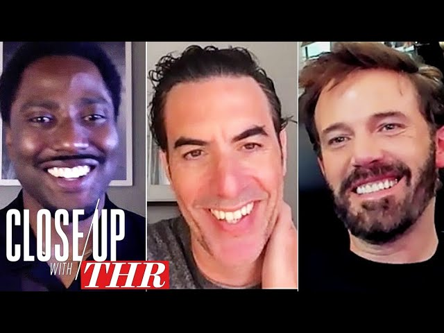 FULL Actors Roundtable: Ben Affleck, Sacha Baron Cohen, John David Washington & More | Close Up