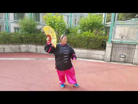 Mum's tai chi fan video 2.70