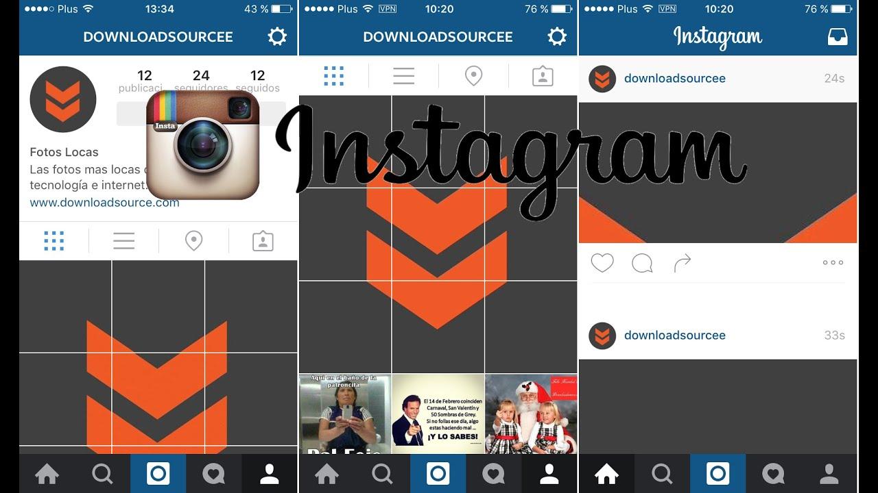 Como crear mosaico en tu perfil de Instagram a partir de fragmentos ...
