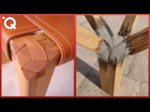 Satisfying Wood Carving & Ingenious Woodworking Joints ▶2