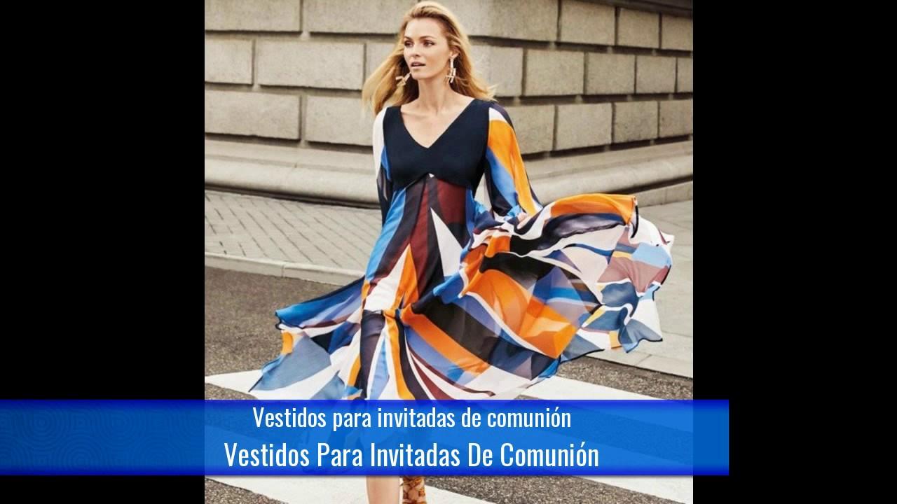 Vestidos para ir de comunion invitada