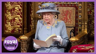 Queen Addresses House of Lords During State Opening of Parliament