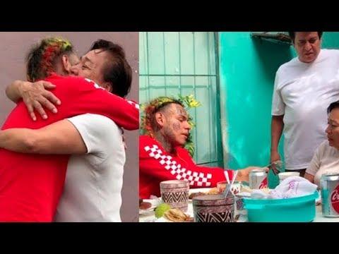 6IX9INE visitando A SU FAMILIA en MÉXICO 🔥 REGALA DINERO a NIÑOS – BEBE ft. ANUEL AA | BRAYAN TRAP