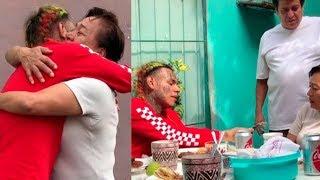 6IX9INE visitando A SU FAMILIA en MÉXICO 🔥 REGALA DINERO a NIÑOS - BEBE ft. ANUEL AA   BRAYAN TRAP