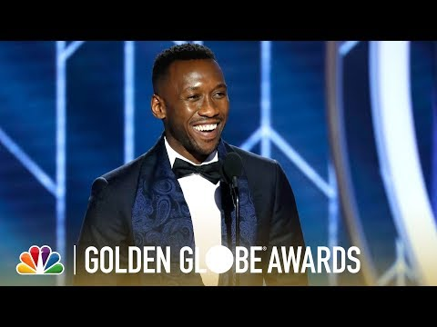 Mahershala Ali Wins Best Supporting Actor - 2019 Golden Globes (Highlight)