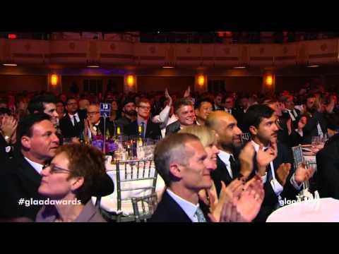 Boy George intros amazing Kylie Minogue performance at #glaadawards