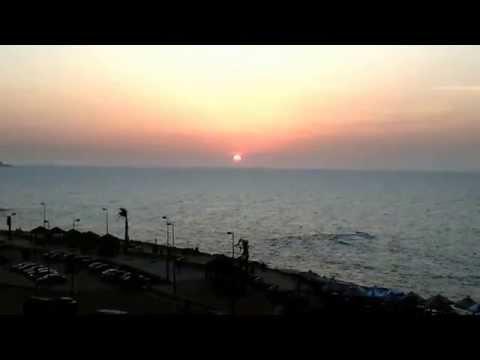 Sea state time 0620 PM  06 04 2015  Sporting Alexandria, Egypt