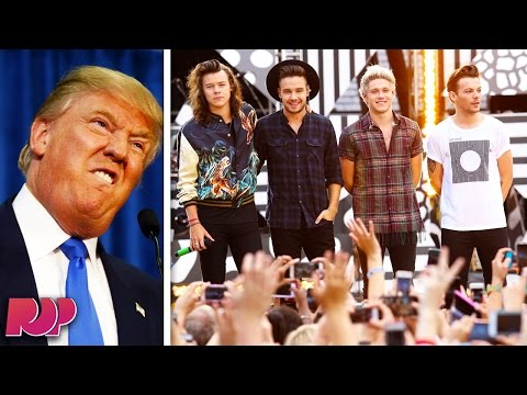 Trump Kicked One Direction Out of His Hotel For Refusing to Meet His Daughter