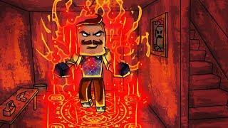 Minecraft - NEIGHBOR RETURNS FROM DEATH PORTAL! (Hello Neighbor)
