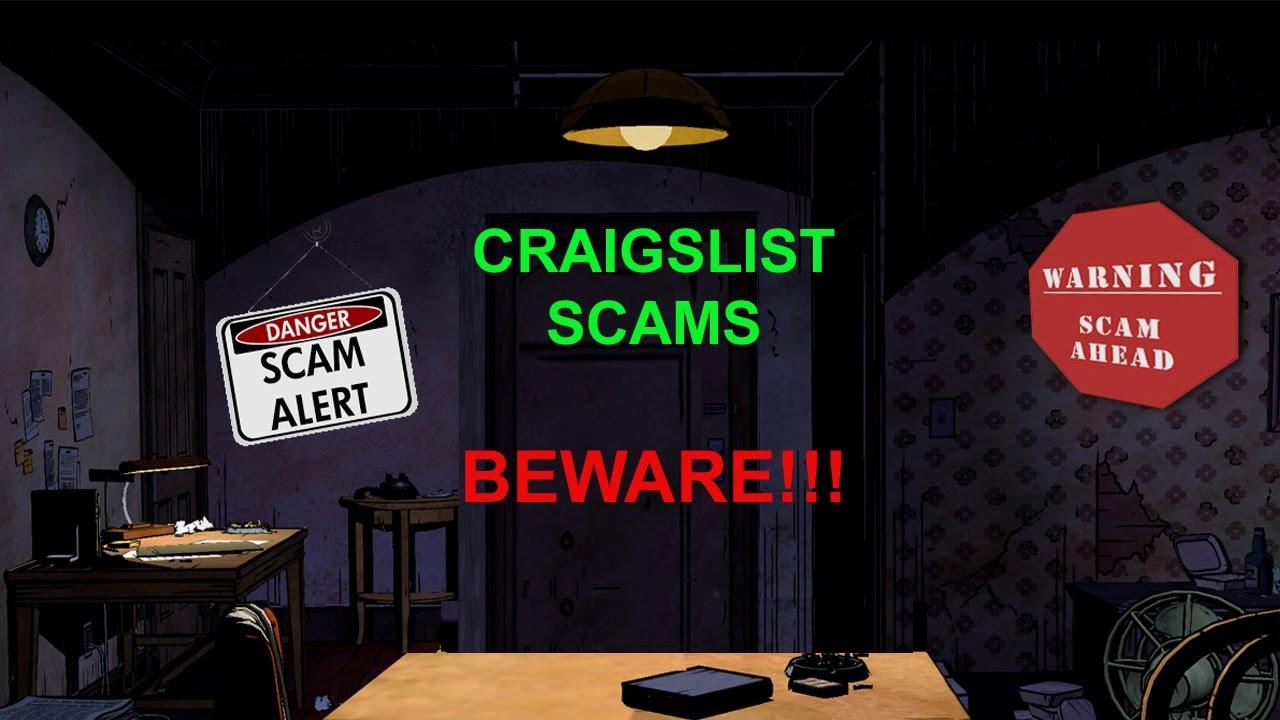 CRAIGSLIST SCAMS - BEWARE!! - by John Tyler - YouTube