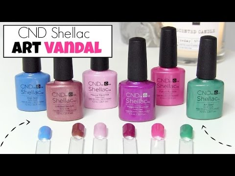 Cnd Shellac Art Vandal Collectie Beautynailsfun Youtube
