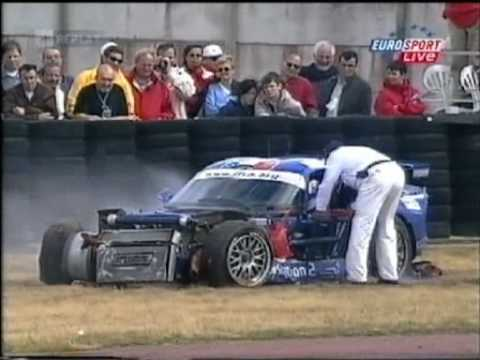 2001 - Le Mans - A replay of David Terrien's struggles