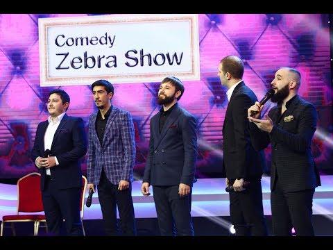 Comedy Zebra Show, spectacol de umor în noaptea de revelion, la Antena 1