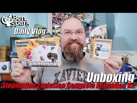 Unboxing Stopmotion Explosion Complete Animation Kit