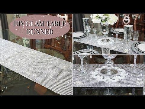 dollar-tree-diy-|-diy-glam-table-runner-+-tablescape-ideas