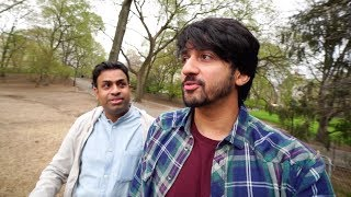 In New York with Nikhil Mumbiker