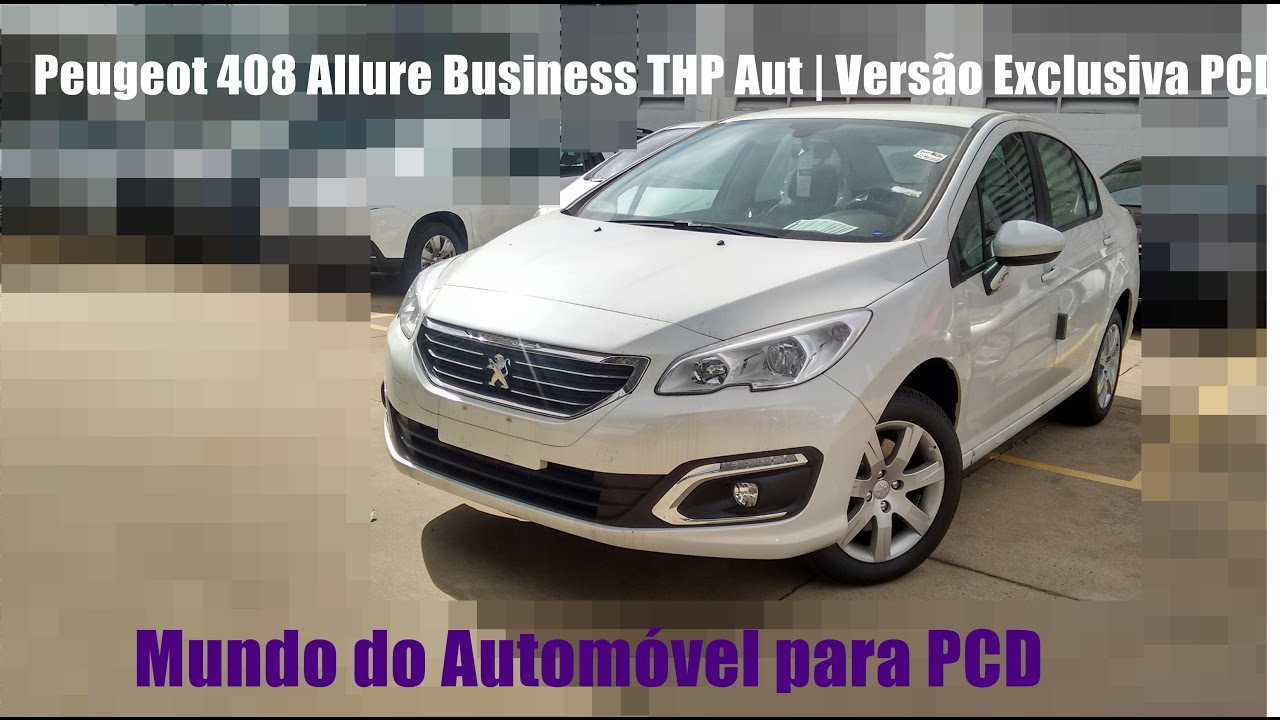 review peugeot 408 allure business thp aut vers o exclusiva pcd youtube. Black Bedroom Furniture Sets. Home Design Ideas