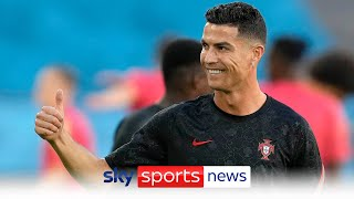 Cristiano Ronaldo completes his medical ahead of his move to Manchester United