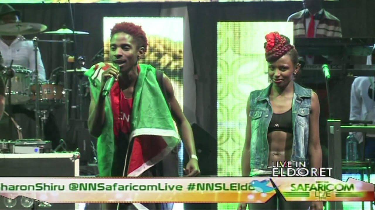 ERIC OMONDI Niko na Safaricom Live 2013 Eldoret