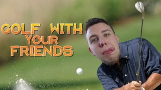 Golfista zawodowy! Golf With Your Friends z Ekipą! / #Flarek