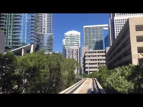Miami. Metromover 26.11.17