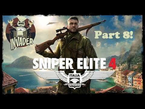 Game Invasions! Sniper Elite 4 Part 8
