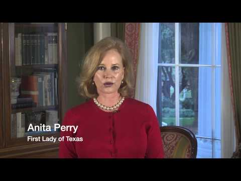 Texas First Lady Anita Perry PSA for CASA