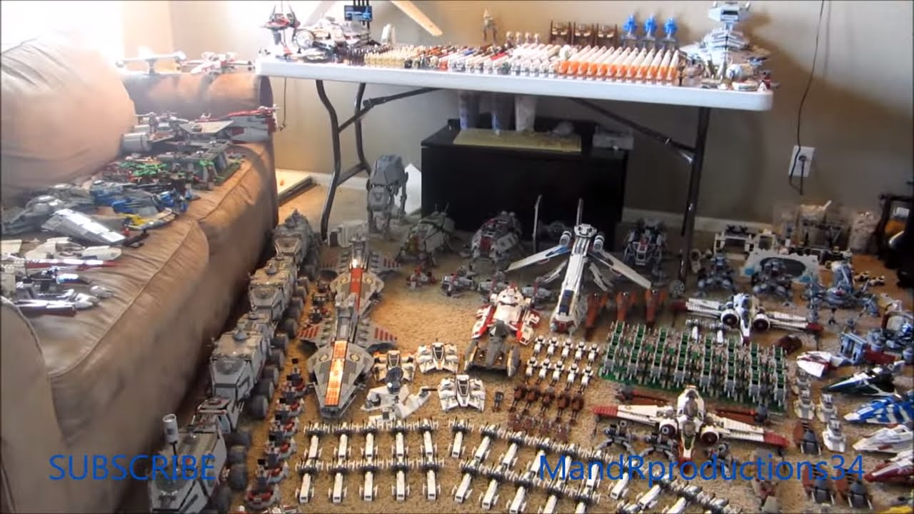 My LEGO Star Wars Collection Video! (GIANT!) - Huge LEGO Star Wars Collection