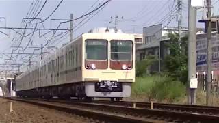 新京成電鉄8000形旧塗装復刻 常盤平~五香間