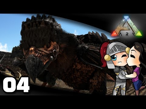 Welsknight & Wifey Play ARK - Ep. 4: Argy Taming!