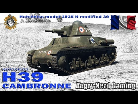 "War Thunder: H.39 ""Cambronne"", French, Tier-1, Premium Light Tank"