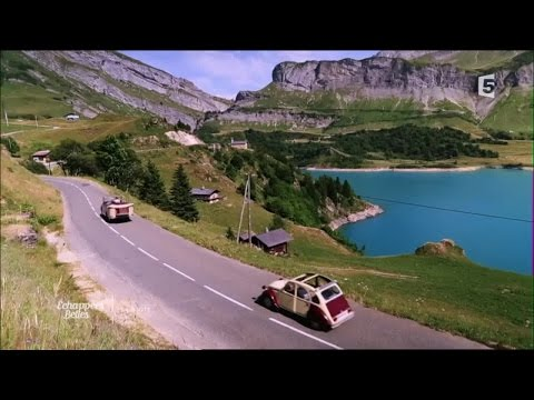 La route des grandes Alpes - Echappées Belles