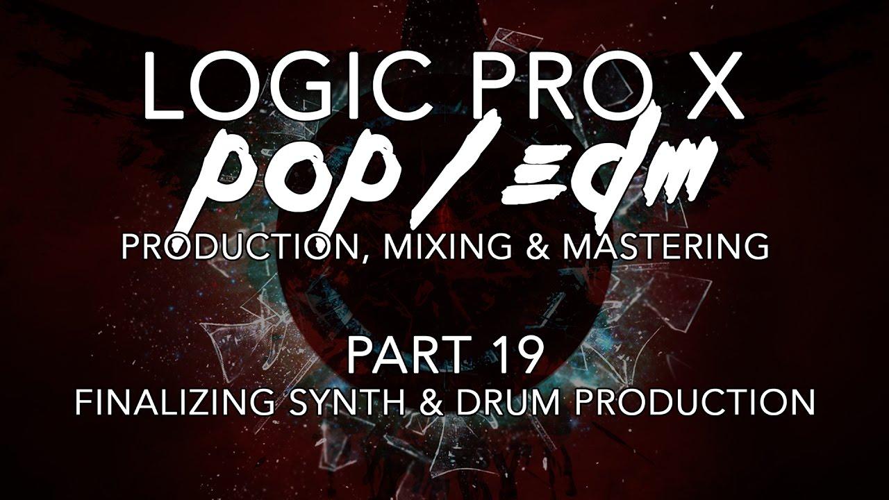 logic pro x edm synth