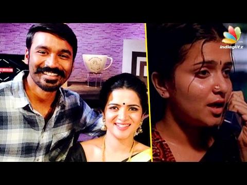 Dhanush praises anchor DD for her Cameo...