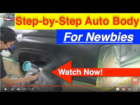 Diy auto body and paint secrets step by step youtube solutioingenieria Images