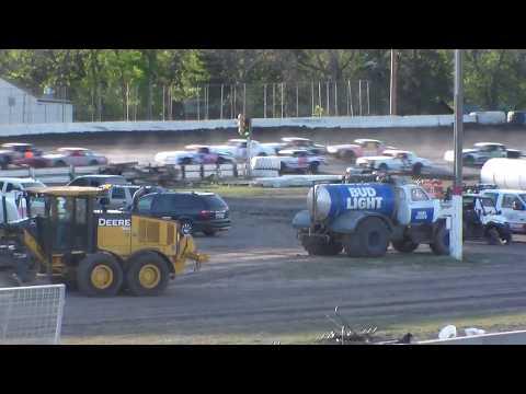 Nodak Speedway IMCA Hobby Stock B-Main (5/21/17)