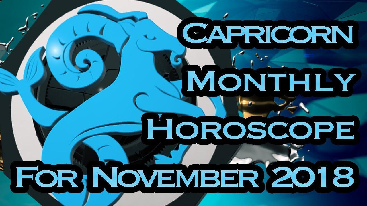 Capricorn Horoscope | November Monthly Horoscopes 2018 In Hindi