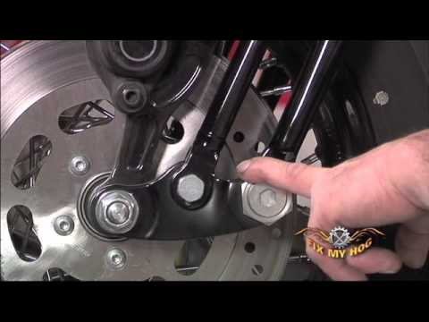 How To Remove Neck Bearings From Harley Davidson Softail