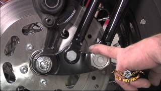 Harley Davidson Maintenance Tips: Softail/Dyna - Springer Front End Inspection