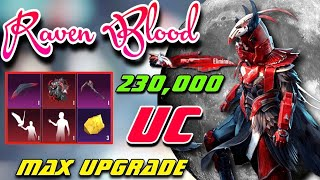 Upgrade Raven Blood Suit Full Level 6 With 230,000 Uc (+Pharaoh Suit)