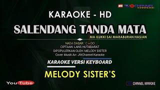 Salendang Tanda Mata Sada Sada Ma ilukki Sai maraburan [Karaoke Lagu Batak Lawas] Melody Sister